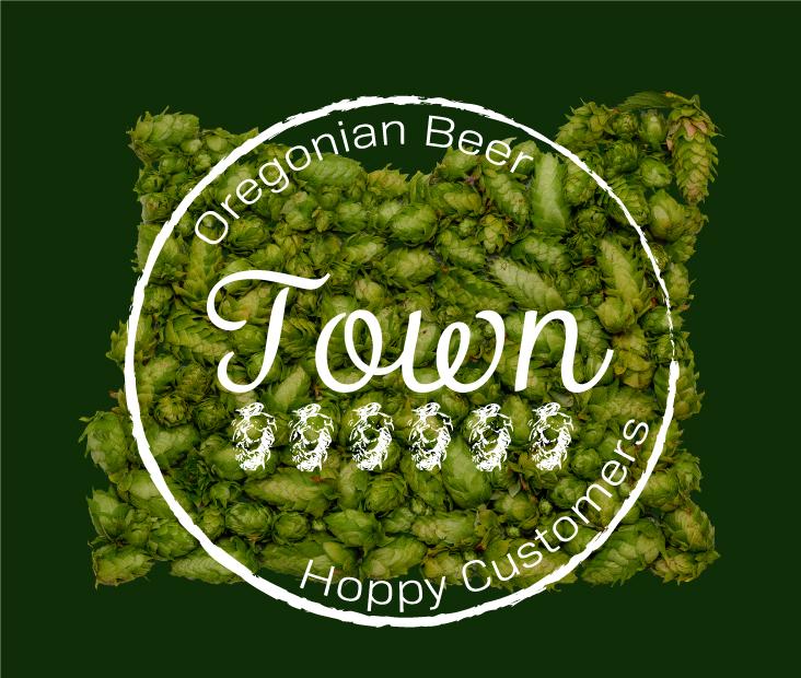 Logo branding design concept for Oregon Beer